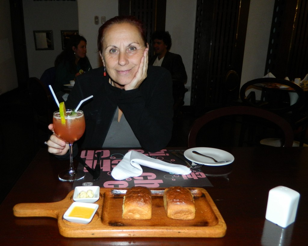 Cocktail in Cusco