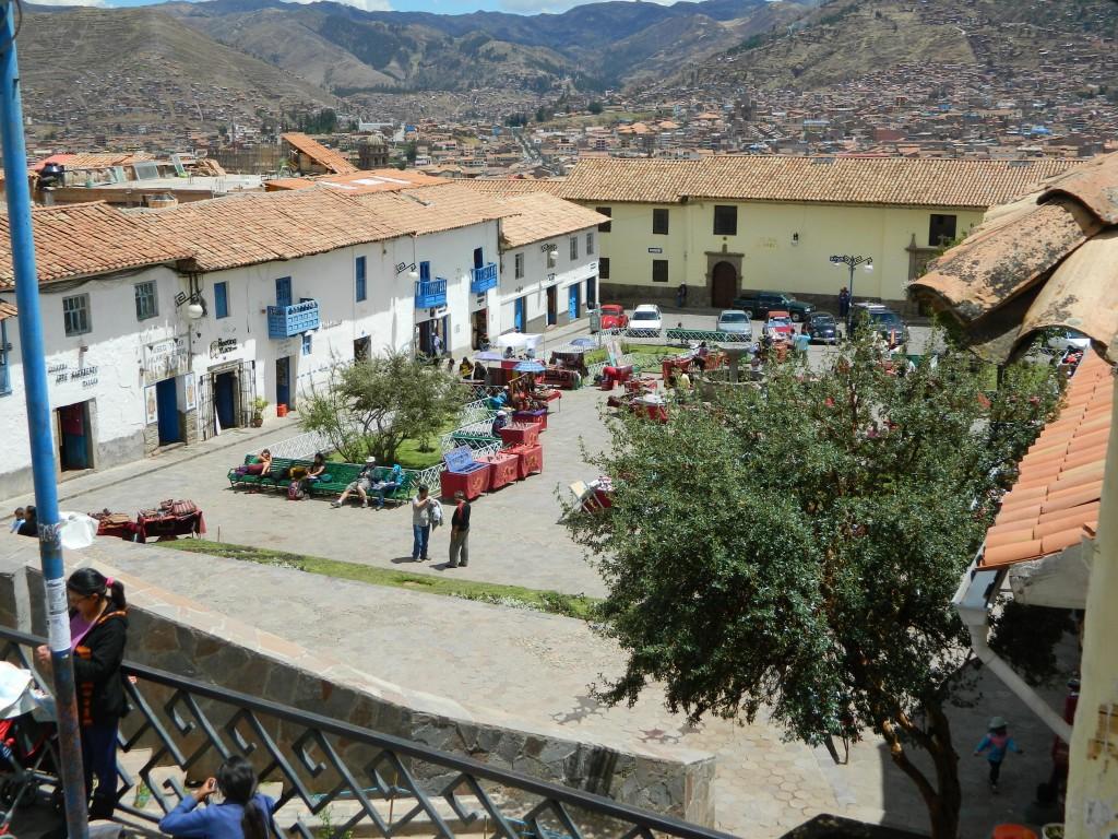 Piața mică Cusco