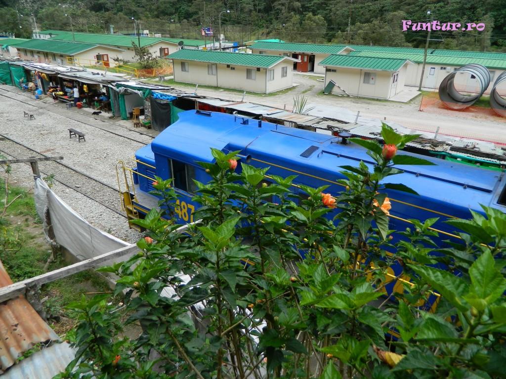 Trenul la Hidroelectrica