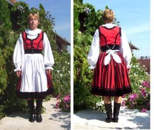 Costum maghiar din zona Harghita